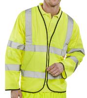 Long Sleeved Flame Retardant Hi-Vis Safety Vest