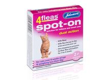Johnson's 4-Fleas Kitten Spot-On Drops x 1