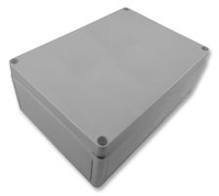 APHaslam 009PL Enclosure Moulded 190x140x70mm Smooth Side Walls