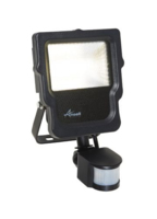 10 WATT COOL WHITE ANSELL CARINA IP65 POLYCARBONATE LED FLOODLIGHT CW PIR