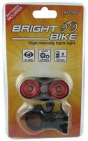 High Intensity Rear Bike Light 2xAAA - 62479