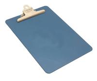 Blue Metal Detectable Clipboard, A4 Portrait