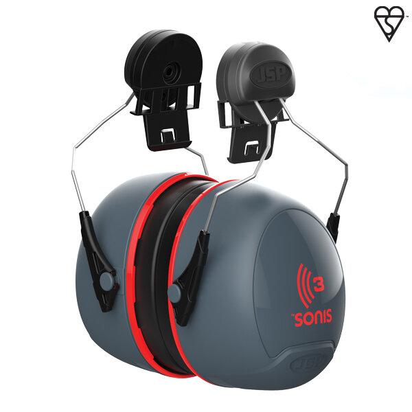 Sonis® 3 Helmet Mounted Ear Defenders 36dB SNR