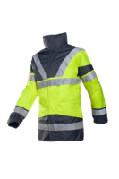 Sioen Skollfield Hi-vis rain jacket with detachable bodywarmer