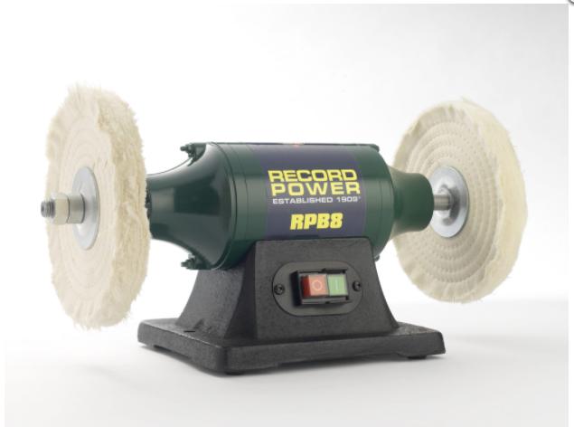 "Record RPB8 8"" Buffing Machine"