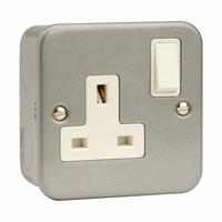 Click CL035 1G Socket Switched Metalclad