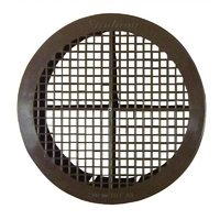 Brown Round Soffitt Vent (WT1818)