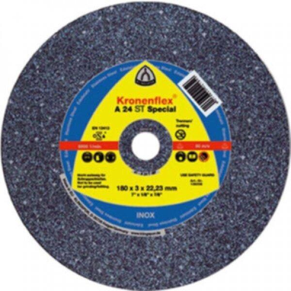 CROWNFLEX 125x2.5x22MM 5''A24R STEEL DPC CUTTING DISCS 13738