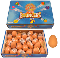Egg shape Ball Natural  (Sold in displays of 24, min order 1 display)