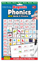 Phonics Magnetic (Priced in singles, order in multiples of 3)