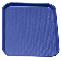 Fast Food Tray Navy Blue 415mm x 305mm