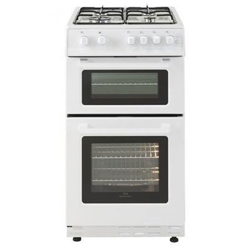 Belling 60cm Double Oven LPG Gas Cooker - White
