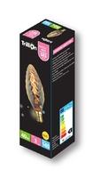 TRILLION 40W E14 GOLD TWIST CANDLE LAMP