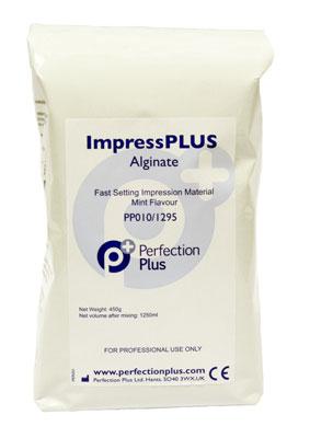 IMPRESS PLUS ALGINATE FAST SET 450GM MINT FLAVOUR