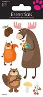 >< Woodland Animal Essential Craft Sticker.