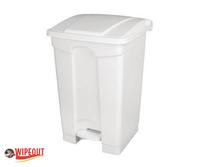 Plastic Bin White 87ltr