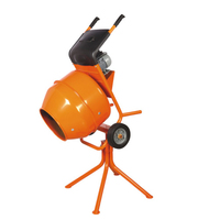 This VICTOR 110v electric 1/2 bag Mixer has a belt-driven gearbox and is a CE Certified Mixer