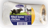 Hollings Filled Bones - Chicken (Wrapped) x 20