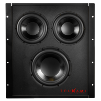 TruAudio Trunami™ in-wall subwoofer with seal