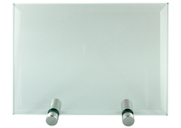 jade plaque with rod 150 x 100 x 10mm
