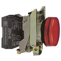 Telemecanique 120V Red Round LED Pilot Light
