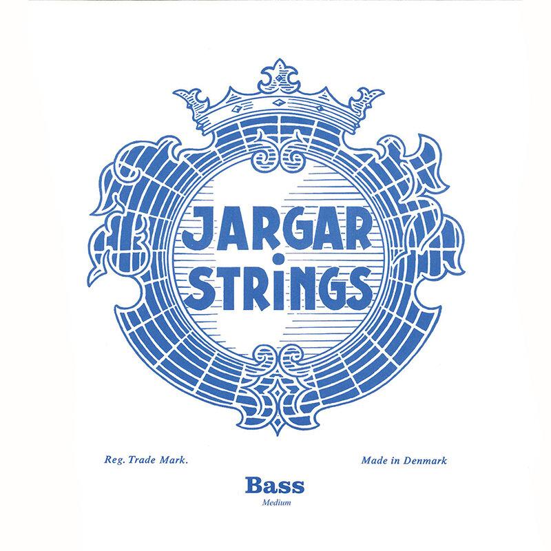 Jargar double bass set medium 4/4