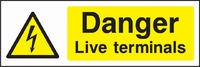 Warning and Electrical Hazard Sign WARN0015-1584