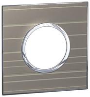 Arteor (British Standard) Plate 2 Module 1 Gang Round Formal | LV0501.0195