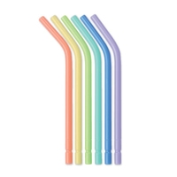 DISPOSABLE AIR/WATER SYRINGE TIP - PK 250 FLAT - SIMILAR TO SEALTIGHT  ASSORTED COLOURS