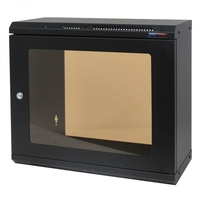 Penn Elcom 9U Shallow Wall Mount Rack Cabinet (R6025-M6-9UK)