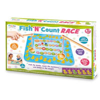 Fish & Count Race Game - in packaging