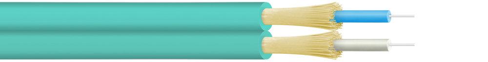 Draka-OM3-50/125-Tight-Buffered-Duplex-Fibre-Optic-Cable-Product-Image