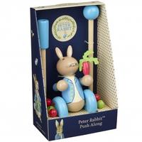 Peter Rabbit push along in gift box