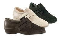 Ladies Beige Ultra Stretchy Shoe (Gala)