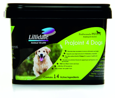 Lillidale ProJoint 4 Dogs 2kg Tub x 1