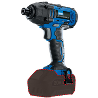 "Draper StormForce Cordless Impact Driver 1/4""-6mm 20V body only"