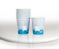THIENEL DRINKING CUPS FOR KIDS PK100 -BLUE-160ML