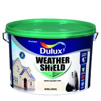 Dulux Weathershield Achill White 10L