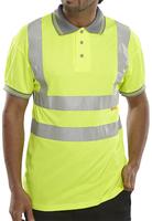Hi-Visibility Pique Polo Shirt