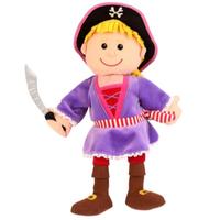 Pirate Girl hand puppet