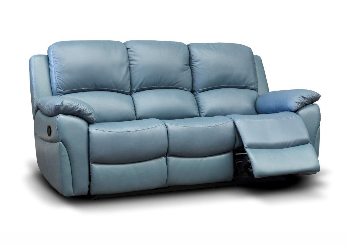 Serena Leather Sofa 1