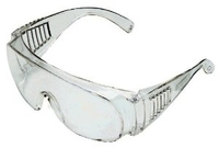 SAFELINE CLEAR SAFETY SPECTACLES (OVER SPECS)