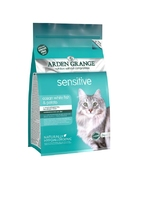 Arden Grange Adult Cat Sensitive - Ocean White Fish & Potato 2kg