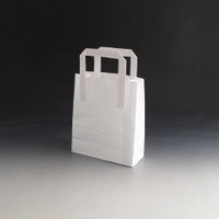 Small White Paper Bag
