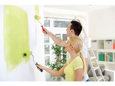 How do you prepare walls for painting?