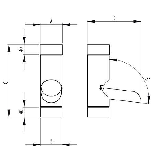 Rainwater Diverter Dimensions