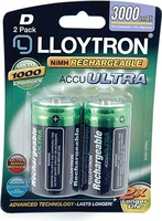 LLOYTRON RECHARGEABLE BATTERY D 3000mAh