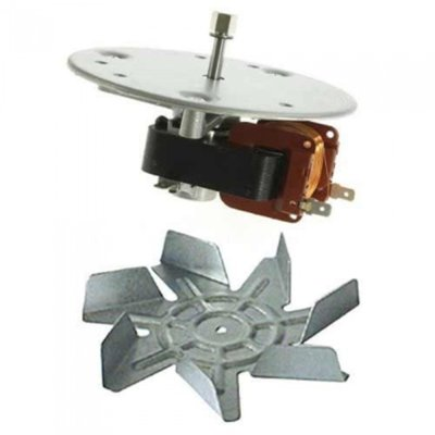 Hotpoint Fan Oven Motor 22mm x 6mm Long Shaft Type Compatible