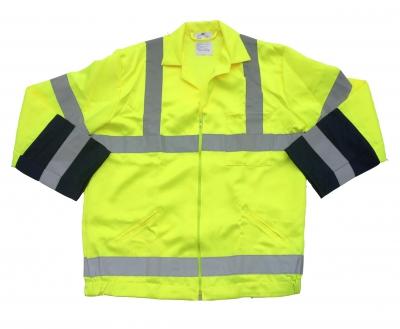 REDBACK P/C Hi-Visibility Jacket Yellow/Navy