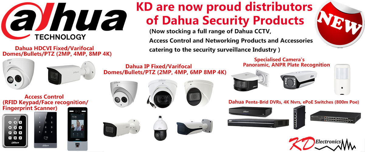 Dahua Product Range Now in Stock!